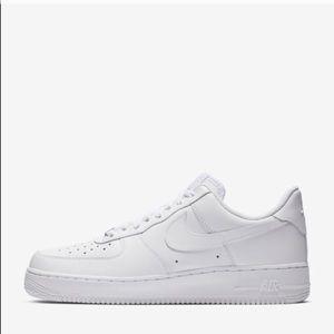 Nike Shoes - Nike Air Force Jordan ones